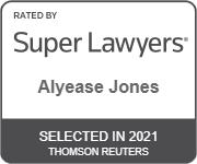 Super Lawyers badge 2021