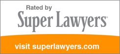 """Rated By Super Lawyers Award"" Logo"
