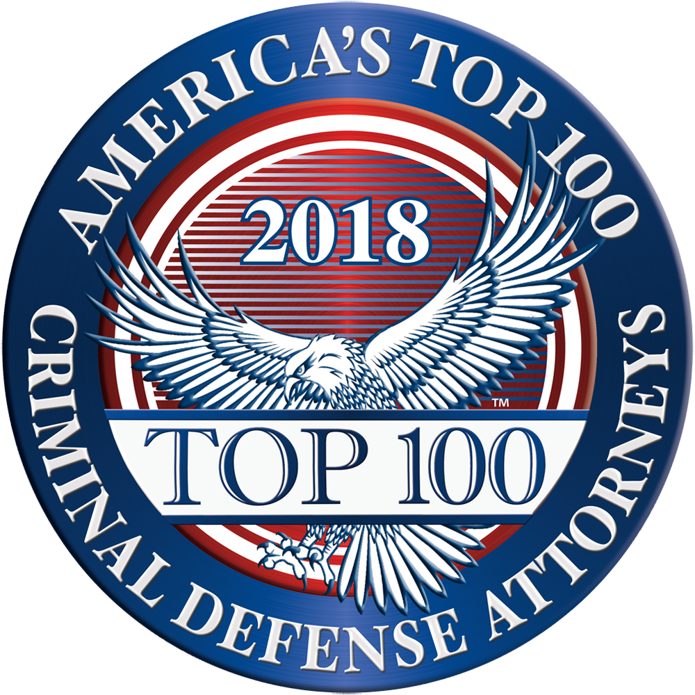 """2018 Americas Top 100"" Badge"