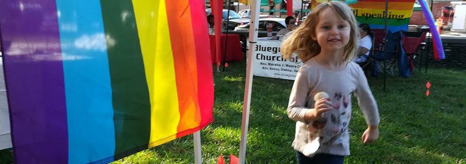 Claire at Pride