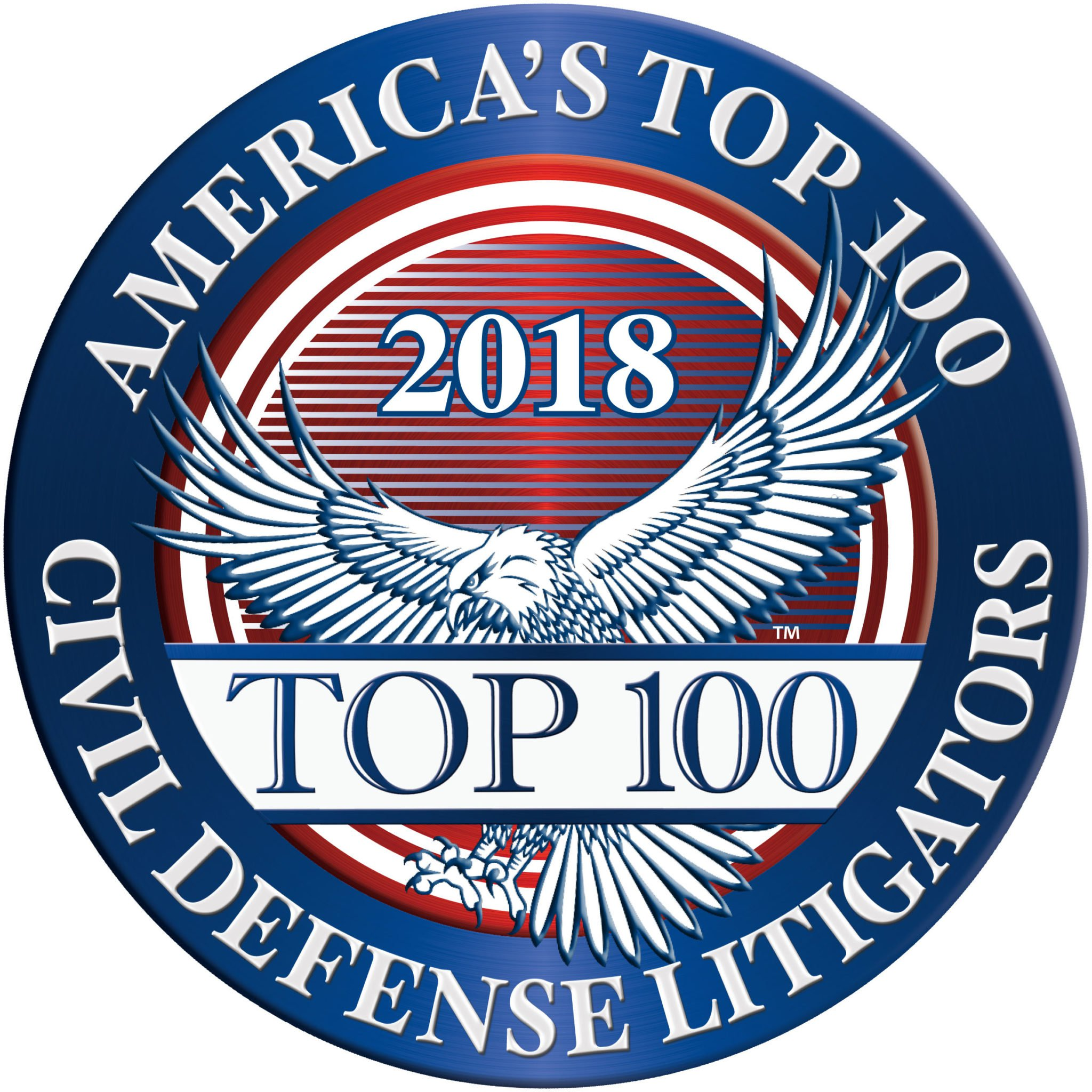2018 Americas Top 100 Badge