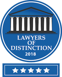 Lawyers of Distinction 2018 Logo