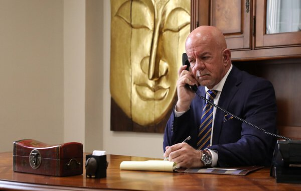 Attorney Brian J. Smith on the Phone