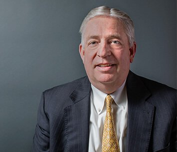 Attorney William H. Barlow Smiling