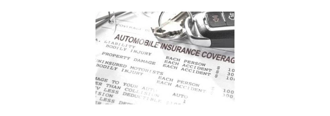 Auto Insurance Coverage receipt