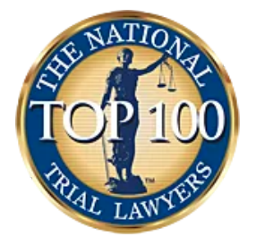 National Trial Lawyers, Top 100 badge