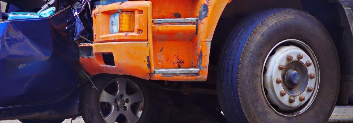 Semi truck rear ending a passenger vehicle.jpeg