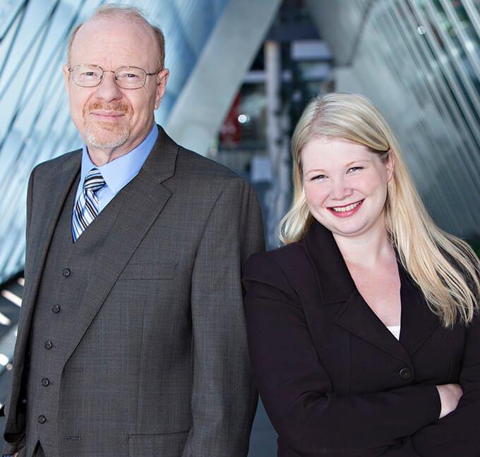 Howard E. Bundy and Caroline Fichter