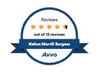 Avvo Reviews Badge