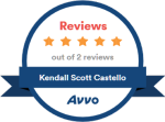 Avvo Five Star Review Badge