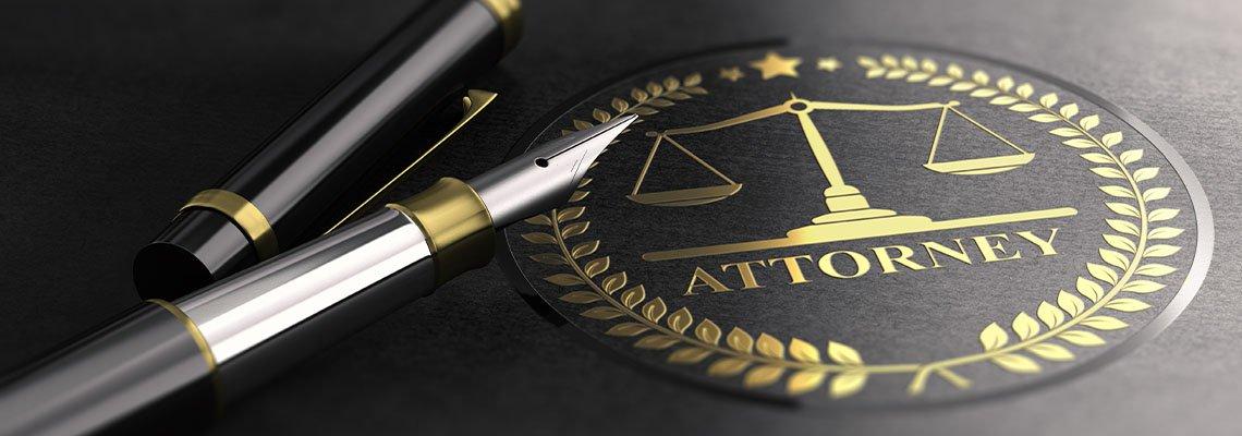 Pen on Attorney Folder