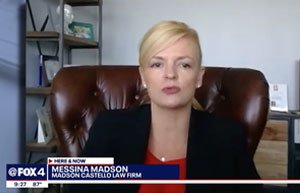 Messina Madson on Fox 4 News