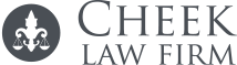 Cheek Law Firm logo