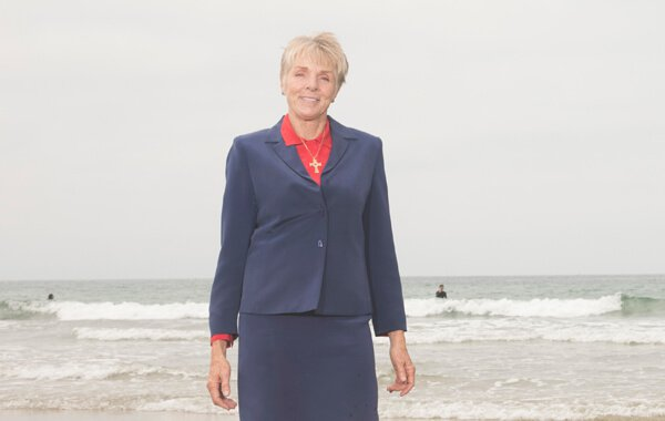 Attorney Catherine Christiansen on The Beach
