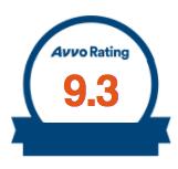 AVVO 9.3 Rating