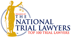 The National Trial Lawyers Top 100 Trial Lawyers Badge
