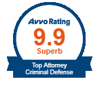 Avvo Rating 9.9 Award Badge