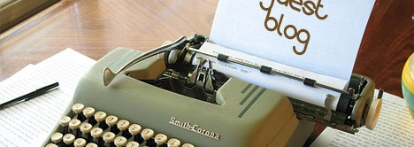 Guest Blog Written on A Typewriter