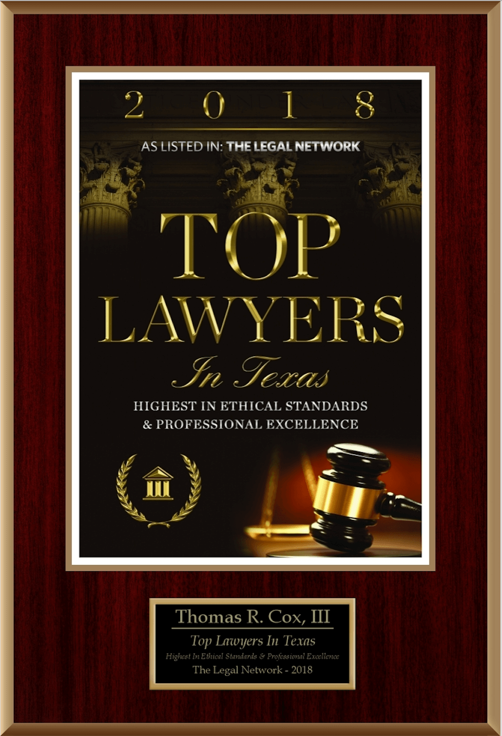 Top Lawyers Badge