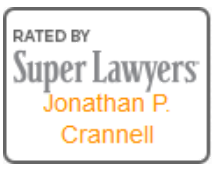 Rated by Super Lawyers Jonathan P. Crannell Badge