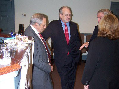 Mark Cummings and David Sher at an Event