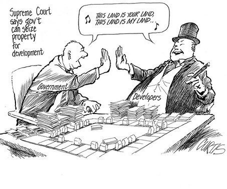 development property seizure cartoon