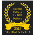 National College for DUI Defense 2018 Badge