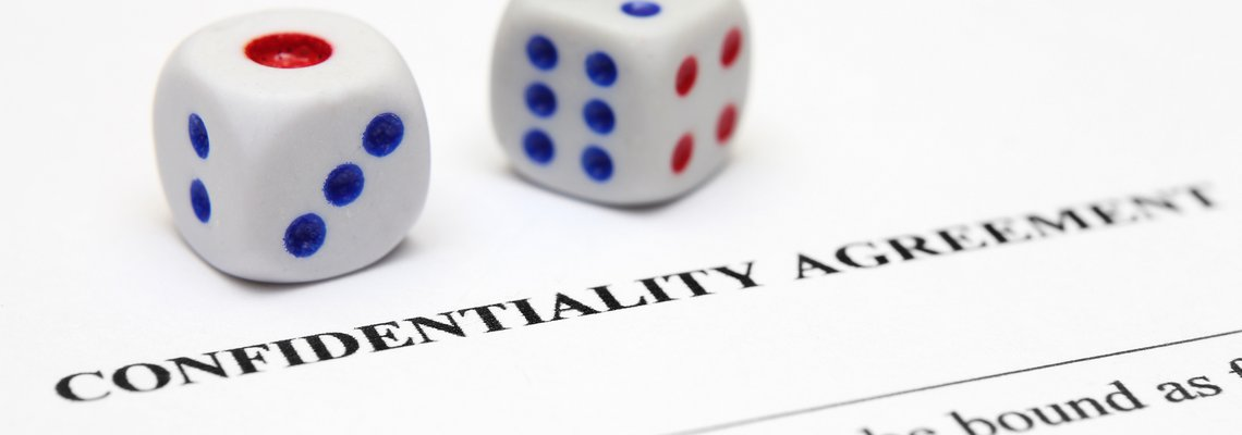 Two die on a confidentiality agreement