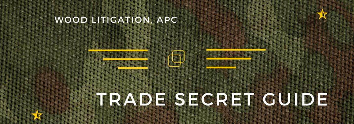 Trade secret guide