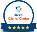 Avvo client's choice badge