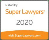 Super Lawyers 2020 badge
