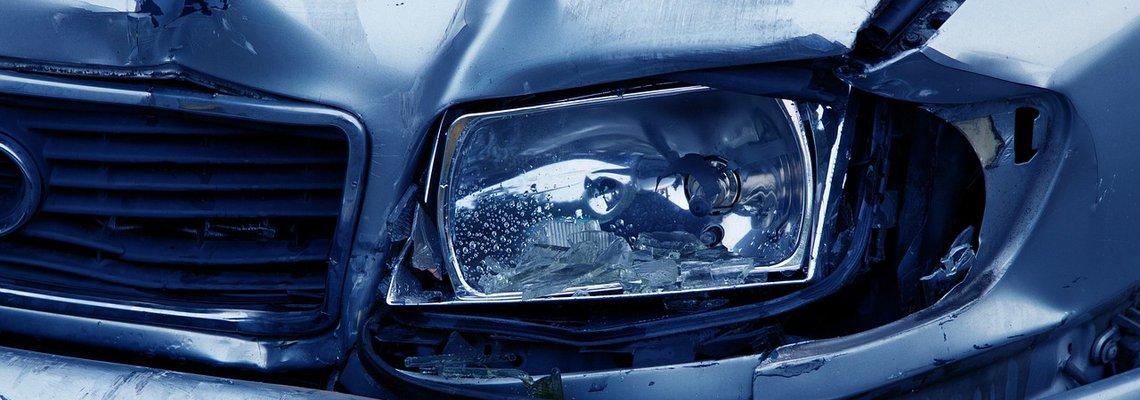 Damage on the Headlight