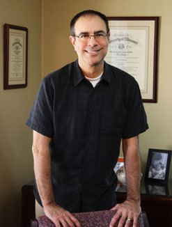 Attorney David Desimone in his Office