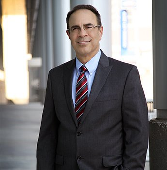 Attorney David Desimone in a Black Suit