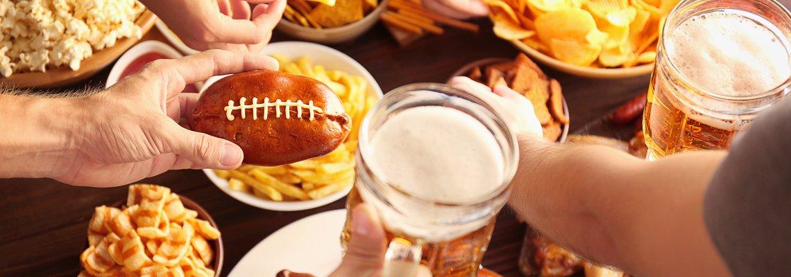 Super Bowl food and beer