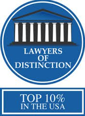 Terry Dodds Lawyer of Distinction Badge