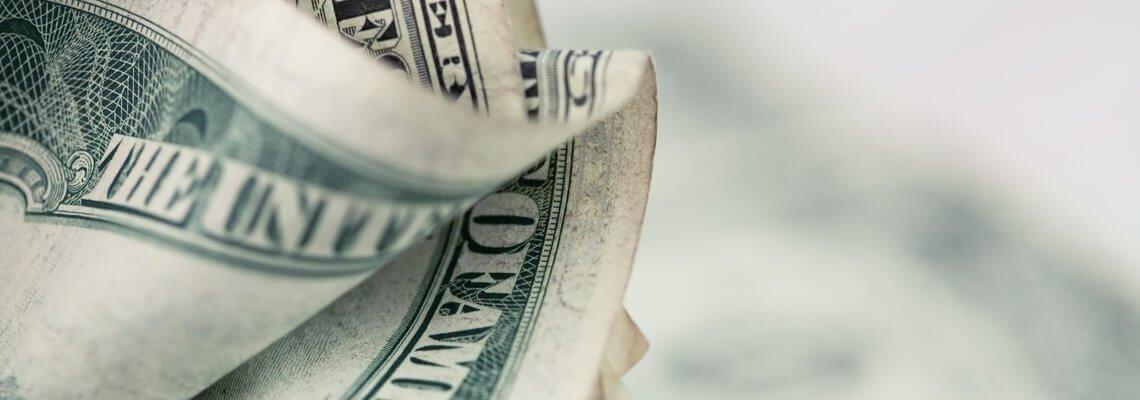 Cash Folded Up