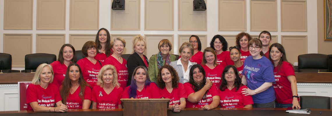 Essure Sisters meet with Co-Sponsors of H.R. 2164