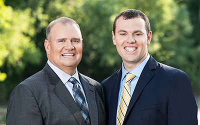 Attorneys J. Ryan Erker and Thomas J. Erker