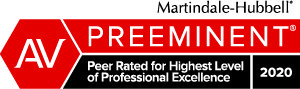 Martindale-Hubbell Preeminent Lawyer 2020 Badge