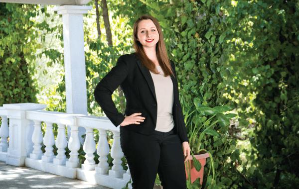 Legal Secretary Anastasiya