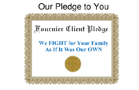 Fournier Client Pledge badge