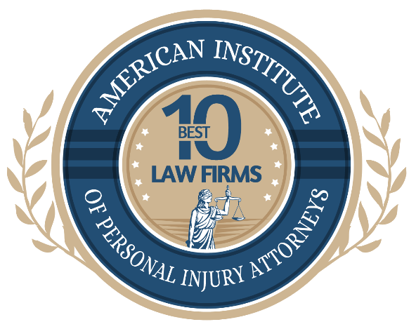 American institute of Personal Injury Attorneys logo badge
