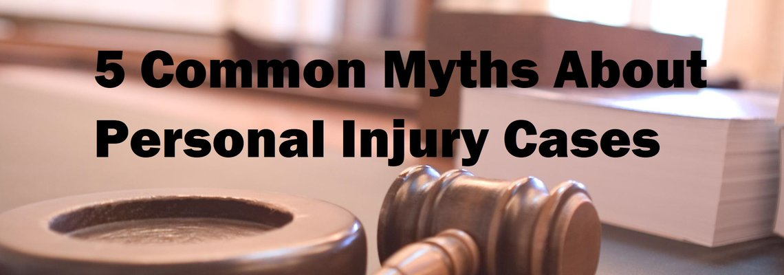 Myths Personal Injury Cases