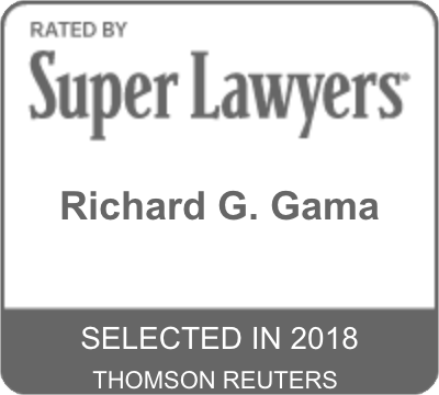 Gama Super Lawyers logo badge