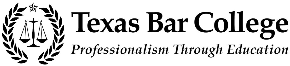 Texas Bar College Professionalism Through Education