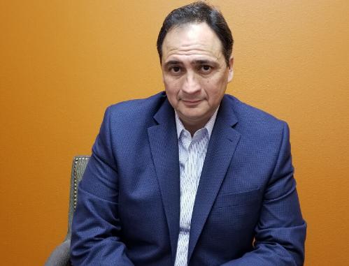 Attorney Xavier Gonzales Sitting Down