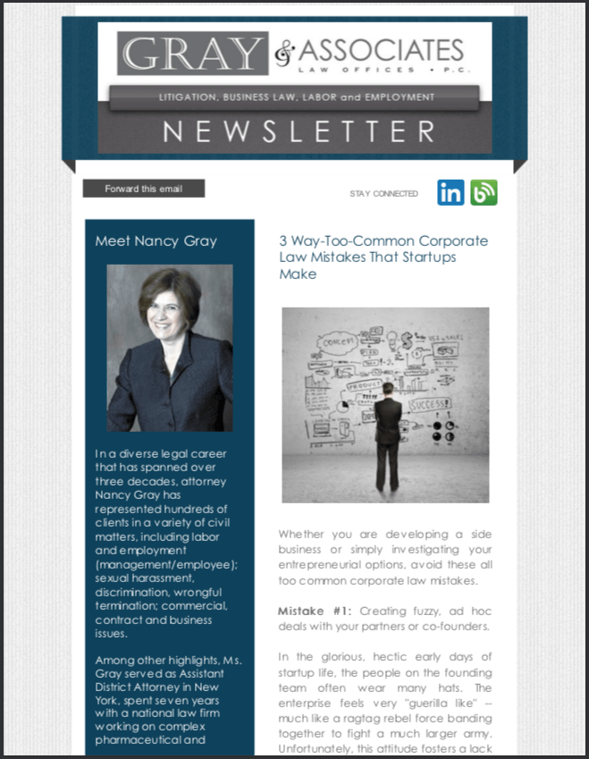Gray & Associates March 2014 Newsletter