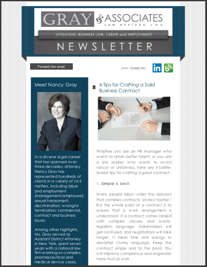 Gray & Associates February 2014 Newsletter