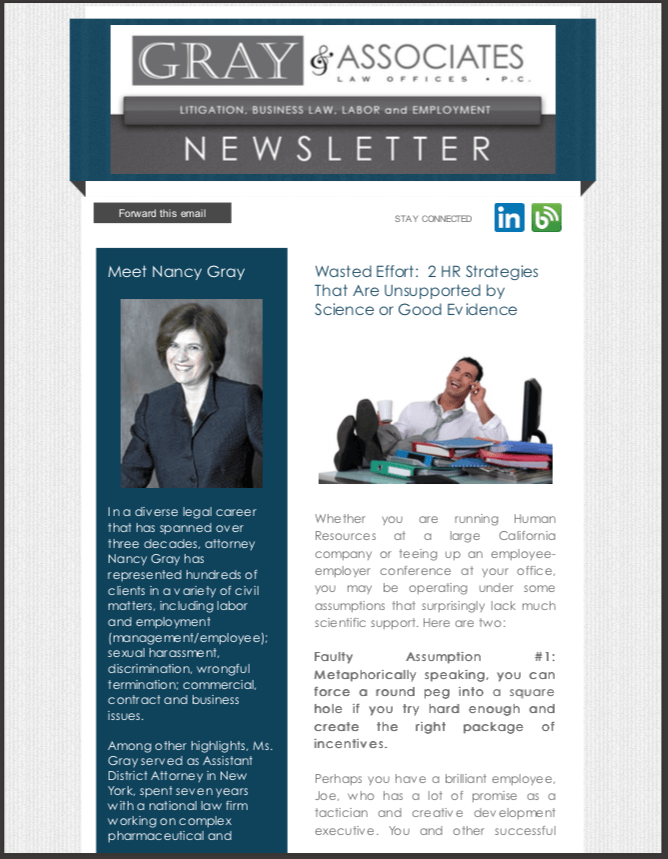 Gray & Associates May 2014 Newsletter